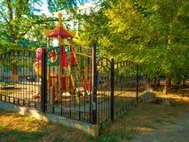 Dagis för lekplats för barn` s Arkivfoton