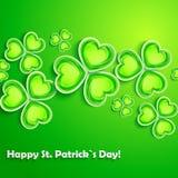 Dagkort för St. Patricks Arkivbild