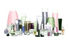 Daglig, skönhetomsorgskönhetsmedel och sminkprodukter Framsidakräm som är ey fotografering för bildbyråer