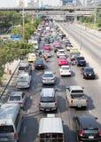 Daglig trafikstockning Royaltyfria Bilder