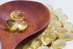 Dagliga vård- vitaminer Arkivbild