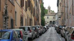 dagligt liv av rome, Italien, 4k arkivfilmer