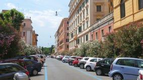 dagligt liv av rome, Italien, 4k stock video