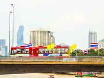 Dagligt liv i Bangkok, Thailnd Royaltyfri Fotografi