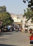 Dagligt liv i Jaipur Royaltyfri Fotografi