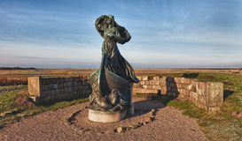 dagmar ja królowej ribe statua Obraz Stock