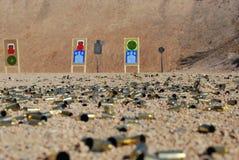 dagmedel som skjuter skjuten show Arkivfoto