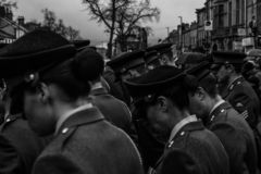 dagminne skipton förenat kungarike 11 11 2018 arkivbild
