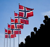 dagnational norway royaltyfria bilder