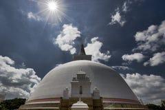 Dagoba en Pollonaruwa Sri Lanka imágenes de archivo libres de regalías