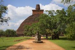 Dagoba Jetavana Anuradhapura,斯里南卡 库存图片