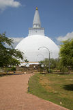 Dagoba Miriswatta Anuradhapura,斯里南卡 图库摄影