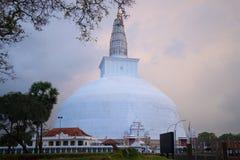Dagoba Ruvanvelisaya Anuradhapura, Σρι Λάνκα Στοκ Εικόνες