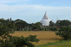Dagoba van Tissamaharama in Sri Lanka Royalty-vrije Stock Afbeeldingen