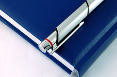 dagordning isolerad penna Royaltyfri Bild