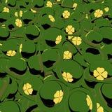 Dagplommonstop för St Patricks, tecknad filmstil Royaltyfri Fotografi