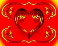 dagserdde valentina Royaltyfri Fotografi