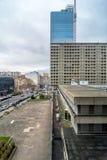 Dagsikt av centret i Lyon, Frankrike Royaltyfri Foto