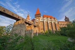 Dagsikt på Corvin slott 3 Royaltyfria Bilder