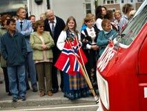 dagsjälvständighet norway Royaltyfria Foton