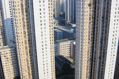 dagtid av den kwan nollan för tseung, Hong Kong arkivbild