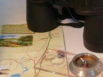 Dagtocht het orienteering Royalty-vrije Stock Foto