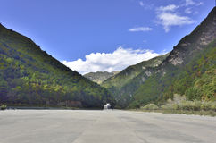 Dagu glacier scenic area entrance! Royalty Free Stock Photography