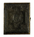 Daguerreotype case for tin picture Stock Image