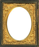 Daguerreotype frame with Clipping Path Royalty Free Stock Images