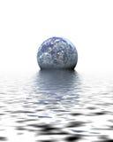 dagvattenvärld Royaltyfri Fotografi