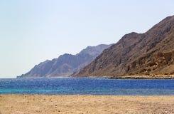 Dahab, Egypte lanscape Royalty-vrije Stock Fotografie