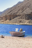 Dahab, Egypte lanscape Royalty-vrije Stock Afbeeldingen