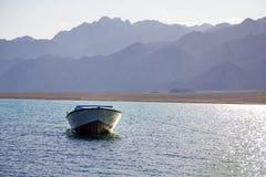 Dahab, Egypte lanscape Stock Afbeeldingen