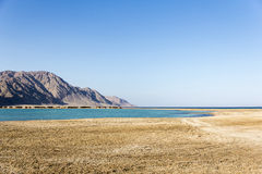 Dahab, lanscape Египта Стоковое Изображение