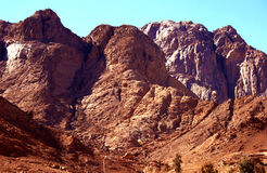 Dahab mountains Royalty Free Stock Image