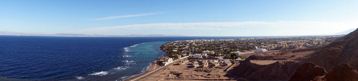 Dahab and Red sea Stock Images