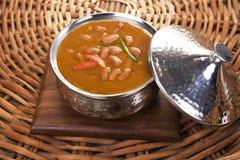 Dahi Bhalle Chaat eller välfyllda Panipuri med ostmassa Royaltyfria Bilder
