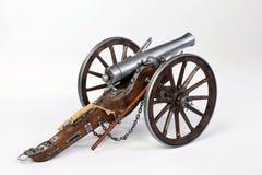 1863 Dahlgren大炮 图库摄影
