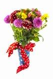 Dahlia bouquet Stock Photos