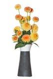 Dahlia Vase Royalty Free Stock Images