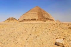 Dahshur Pyramiden stockbilder