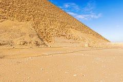 Dahsur ostrosłupy w Egipt Fotografia Stock