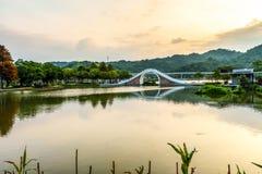Dahu公园在台湾 库存图片