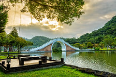 Dahu park  in taiwan Stock Photography