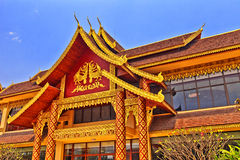 Dai Building. It is in China's Yunnan Xishuangbanna Dai photographed building Royalty Free Stock Photo