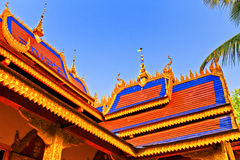 Dai Building. It is in China's Yunnan Xishuangbanna Dai photographed building Stock Image