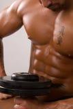 Dai muscoli irrigiditi Fotografia Stock