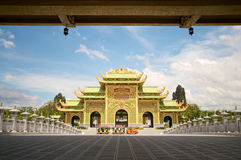 Dai Nam Temples and Safari Park in Vietnam. Tourist, Cultural and Historical Zone stock image