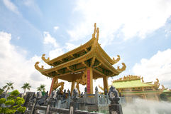 Dai Nam Temples and Safari Park in Vietnam. Tourist, Cultural and Historical Zone Royalty Free Stock Image