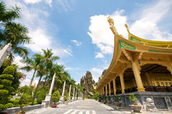 Dai Nam Temples and Safari Park in Vietnam Royalty Free Stock Photo